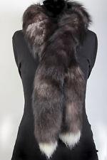 2001 Fur Boa From Scandinavian Silver Foxes Real Fox Fur Scarf Fur Stole Shawl