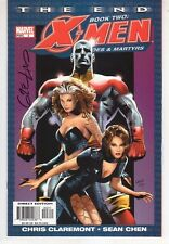 X-Men:  The End - Heroes & Martyrs #3 SIGNED by Greg Land - Marvel Comics