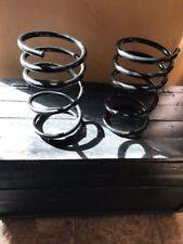 2 Large metal springs