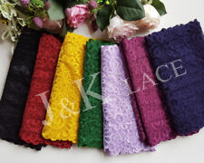 20.5 cm width Pretty 7 Colors Stretch Lace Trim