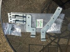 Curved Rail Gate Hinge Right Hand galvanized 12""