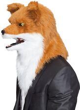 Maske Tiermaske Fuchs bewegliches Maul und leuchtende Augen