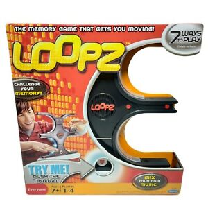 Loopz Game | Electronic Memory Games by Mattel Radica | NEW | Rare 2009