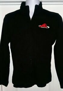 Red Horse Racing Team Issued Full Zip Sweater Ladies Small NASCAR Truck Series