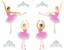 ~ Reflections Ballet Ballerina Tiara Slipper Dancer Dance Mrs Grossman Sticker ~