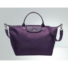 Clearance Longchamp Le Pliage Neo Medium Handbag Bilberry 1515578645