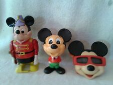 Vtg. Disney Mickey Marching Band Batt.Op. Talking Mickey Pull String, ViewFinder