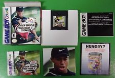 Tiger Woods PGA Tour 2000 Complete Game Boy Color Game Box And Manual Nintendo