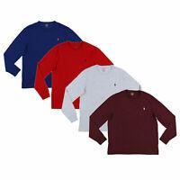 Polo Ralph Lauren Mens Custom Slim Fit Long Sleeve T-Shirt S M L Xl Xxl Prl New