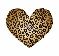Leopard Skin Leperd Skin Heart Luv Hart  Sticker Decal Graphic Vinyl Label