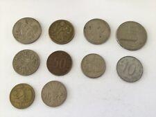 Monnaies  Lot de 10 pièces - Tchécoslovaquie
