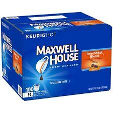 Maxwell House Breakfast Blend Coffee (100 K-Cups) NEW