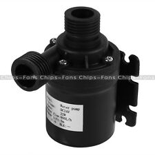DC 12V 24V Hot Water Circulation Pump Solar Water Pump Brushless Motor 800L/H CF