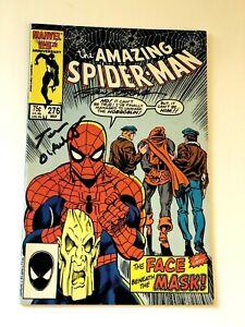 Amazing Spiderman #276 HI GRADE Hobgoblin SIGNED BY BREET BREEDING TOM DEFALCO