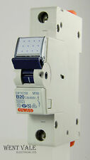 GEWISS Series 90-MT60 GW 92 208 - 20A TIPO B singolo palo MCB NUOVO