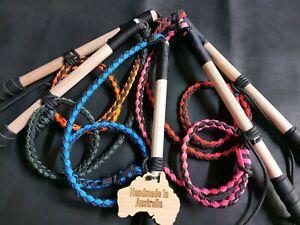 2.5ft Nylon Kids stock whip Australian Made