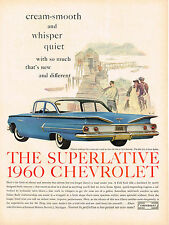Vintage 1960 Magazine Ad Chevrolet Nearest to Perfection in a Low-Priced Car