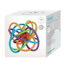 Manhattan Toy Winkel Rattle & Sensory Teether Toy (NEW IN BOX)