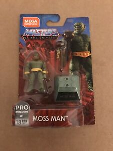 Mega Construx Heroes MOSS MAN Figure Series 3 Masters of the Universe GNV32 MOTU