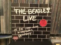 SEALED THE BEATLES LIVE IN HAMBURG GERMANY LP 1982~HOLLAND Star Club