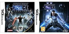 star wars the force unleashed 1 & 2  ds pal