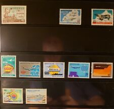 Korea Aircraft & Aviation Stamps Lot of 12 - MNH  - See List for Details