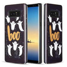 Halloween Ghost Spooky Shockproof Rubber Phone Case For Samsung Galaxy Note 8
