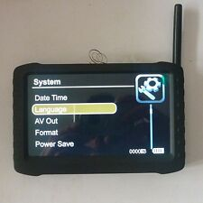 "wireless receiver 5"" DVR 2.4G motion detect ,loop record Automation 8 channels"