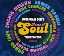 Roots Of Soul 2-CD NEW SEALED Sam Cooke/James Brown/Jackie Wilson/Four Tops+