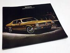 1974 Pontiac Ventura Preview Brochure