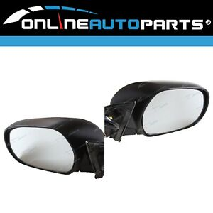 LH+RH Electric Door Mirrors Pair for Toyota Hiace 2005-2013 Passenger Commuter