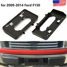 For 2009-2014 Ford F150 Front Bumper License Plate Holder Frame Bracket US STOCK