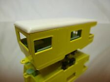 LESNEY 23 TRAILER CARAVAN - MATCHBOX SERIES - YELLOW - GOOD CONDITION