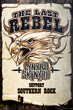 LYNYRD SKYNYRD - WANTED THE LAST REBEL POSTER (91x61cm)  NEW LICENSED ART