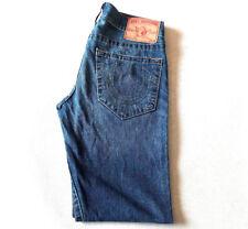 Men's True Religion Jeans 30 x 32 Geno Slim Leg, Lightweight in Blue RRP £200