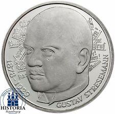 Deutschland 5 DM Silber 1978 Stempelglanz Gustav von Stresemann in Münzkapsel