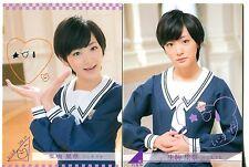JAPANESE IDOL Rina Ikoma 2 BASE CARDS LOT 2013 Nogizaka46