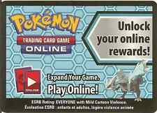 POKEMON ONLINE CODE CARD FROM THE 2012 KYUREM COLLECTOR'S BOX