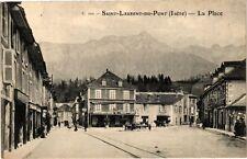 CPA  Saint-Laurent-du-Pont (Isére) - La Place   (241631)