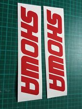 SHOWA 150mm  Sticker Decal all colours