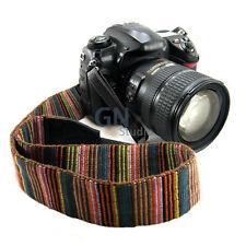 Vintage Camera Shoulder Neck Strap Stripe Belt for DSLR SLR Canon Nikon Sony AU