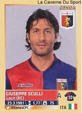 GIUSEPPE SCULLI # ITALIA GENOA.CFC RARE UPDATE STICKER CALCIATORI 2014 PANINI