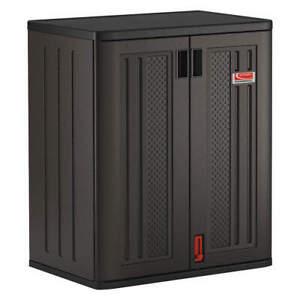 """SUNCAST COMMERCIAL BMCCPD3600 Shelving Cabinet,36"""" H,30"""" W,Dark Gray"""