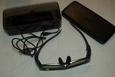 Rechargeable Panasonic Active Shutter 3D Glasses in Case TY-EW3D2M