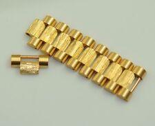ROLEX 1803 18038 18238 PRESIDENTIAL DAY DATE GOLD BARK LINK FOR 20MM BRACELET