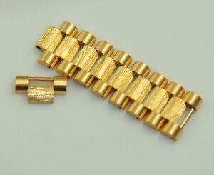 ROLEX 18078 1803(8) 18278 PRESIDENTIAL DAY DATE GOLD BARK LINK FOR 20MM BRACELET