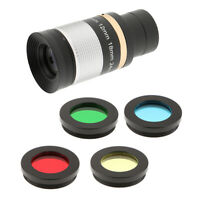 "1.25"" 8-24mm Zoom Eyepiece for Telescope Skywatcher+Lens Moon Planet Filter"