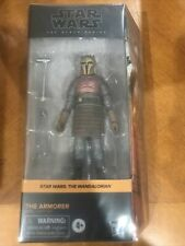 Star Wars The Armorer The Mandalorian Black Series 6 Inch Action Figure #04