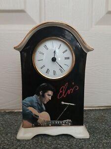 RARE ELVIS PRESLEY SIGNATURE PRODUCT  WESTMINSTER PORCELAIN  CLOCK
