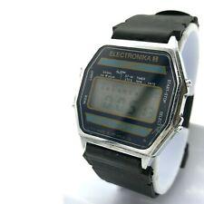 Digital Watch ELEKTRONIKA 55 English Integral Alarm Stopwatch Timer Date Export